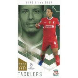 Virgil van Dijk Liverpool Tacklers 15