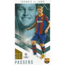Frenkie de Jong Barcelona Passers 22