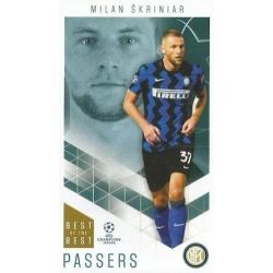 Milan Škriniar Inter Milan Passers 24