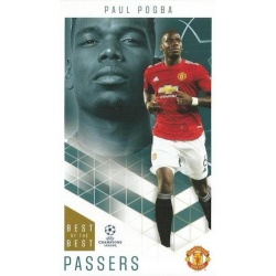 Paul Pogba Manchester United Passers 27