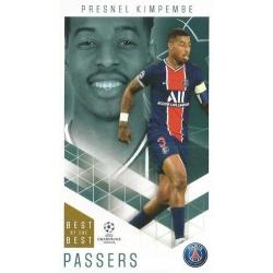 Presnel Kimpembe Paris Saint-Germain Passers 28