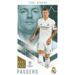 Toni Kroos Real Madrid Passers 30