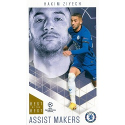 Hakim Ziyech Chelsea Assist Makers 33