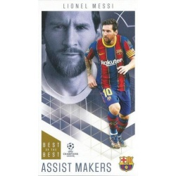 Lionel Messi Barcelona Assist Makers 34