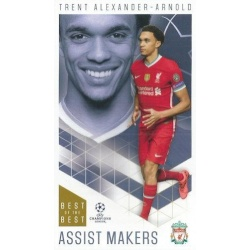 Trent Alexander-Arnold Liverpool Assist Makers 36
