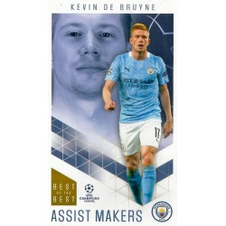 Kevin De Bruyne Manchester City Assist Makers 37