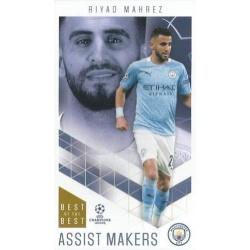Riyad Mahrez Manchester City Assist Makers 38