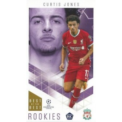 Curtis Jones Liverpool Rookies 50
