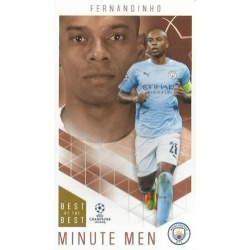 Fernandinho Manchester City Minute Men 67