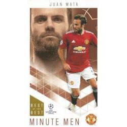 Juan Mata Manchester United Minute Men 68