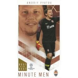 Andriy Pyatov Shakhtar Donetsk Minute Men 70