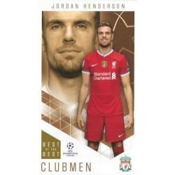 Jordan Henderson Liverpool Clubmen 76