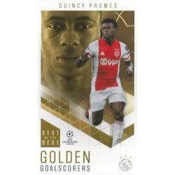 Quincy Promes Ajax Golden Goalscorers 81