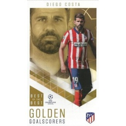Diego Costa Atletico Madrid Golden Goalscorers 83