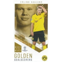 Erling Haaland Borussia Dortmund Golden Goalscorers 84
