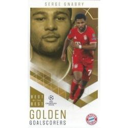 Serge Gnabry Bayern Munchen Golden Goalscorers 87