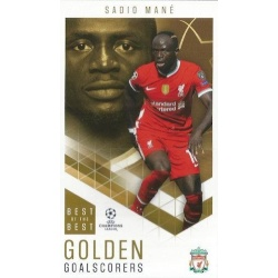 Sadio Mané Liverpool Golden Goalscorers 93