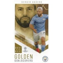 Sergio Agüero Manchester City Golden Goalscorers 94