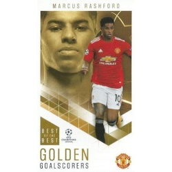 Marcus Rashford Manchester United Golden Goalscorers 95