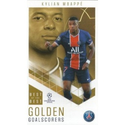 Kylian Mbappé Paris Saint-Germain Golden Goalscorers 96