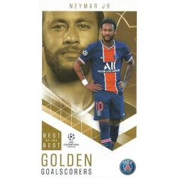 Neymar Jr Paris Saint-Germain Golden Goalscorers 97
