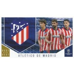 Atletico Madrid Club Cards 103