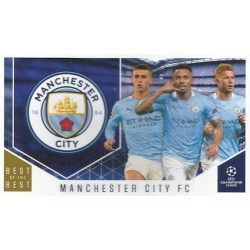 Manchester City Club Cards 114