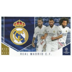 Real Madrid Club Cards 118