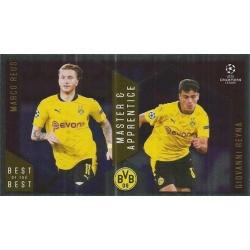 Marco Reus / Giovanni Reyna Borussia Dortmund Master Apprentice 132