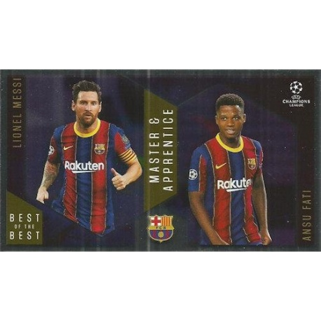 Lionel Messi / Ansu Fati Barcelona Master Apprentice 133