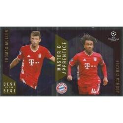 Thomas Müller / Joshia Zirkzee Bayern Munchen Master Apprentice 134