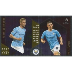 Kevin De Bruyne / Phil Foden Manchester City Master Apprentice 137