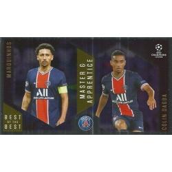 Marquinhos / Colin Dagba Paris Saint-Germain Master Apprentice 138