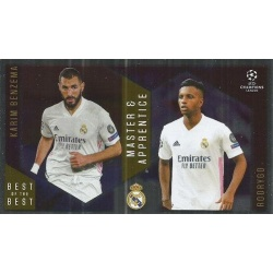 Karim Benzema / Rodrygo Real Madrid Master Apprentice 140
