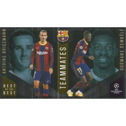 Antoine Griezmann / Ousmane Dembélé Barcelona Master Apprentice 142