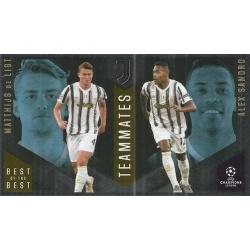 Matthijs de Ligt / Alex Sandro Juventus Master Apprentice 145