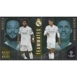 Marcelo / Raphaël Varane Real Madrid Master Apprentice 148