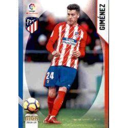 Giménez Atlético Madrid 60