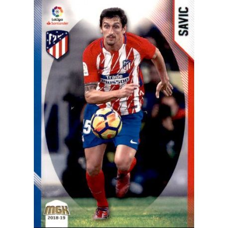 Savic Atlético Madrid 62