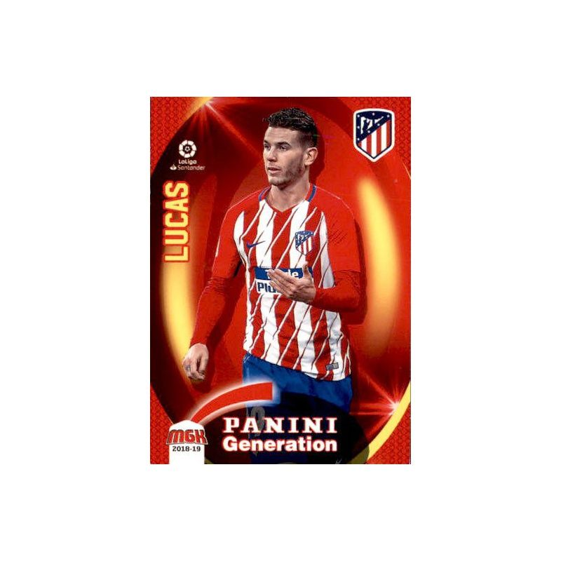 Lucas Moura Fifa 18 Card: Lucas Atlético Madrid Cromos Megacracks 2018-19