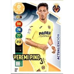 Yeremi Pino Fichas Bis Villarreal 357 Bis