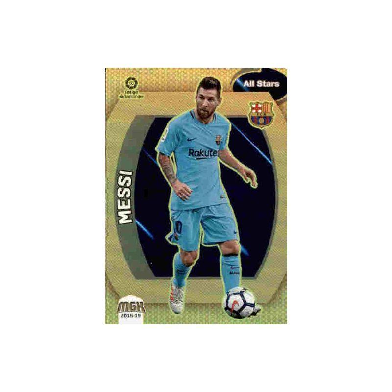 Messi All Stars 106 Megacracks 2018 2019 MGK 18 19 Spain Card Liga Santander