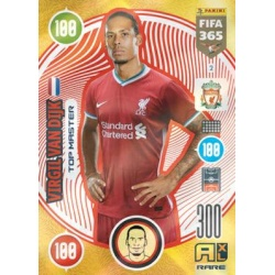 Virgil van Dijk Rare Liverpool 2