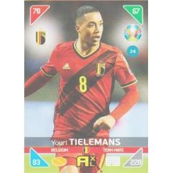 Youri Tielemans Bélgica 24