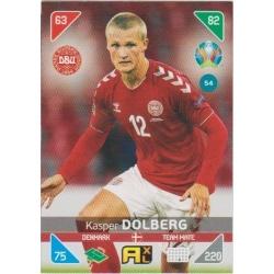 Kasper Dolberg Dinamarca 54