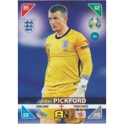 Jordan Pickford Inglaterra 55