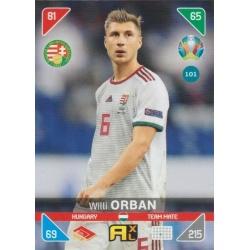 Willi Orban Hungria 101