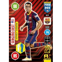Sergiño Dest Impact Signing Barcelona UE8