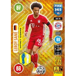 Leroy Sané Impact Signing Bayern Munchen UE18