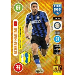 Achraf Hakimi Impact Signing Inter Milan UE20